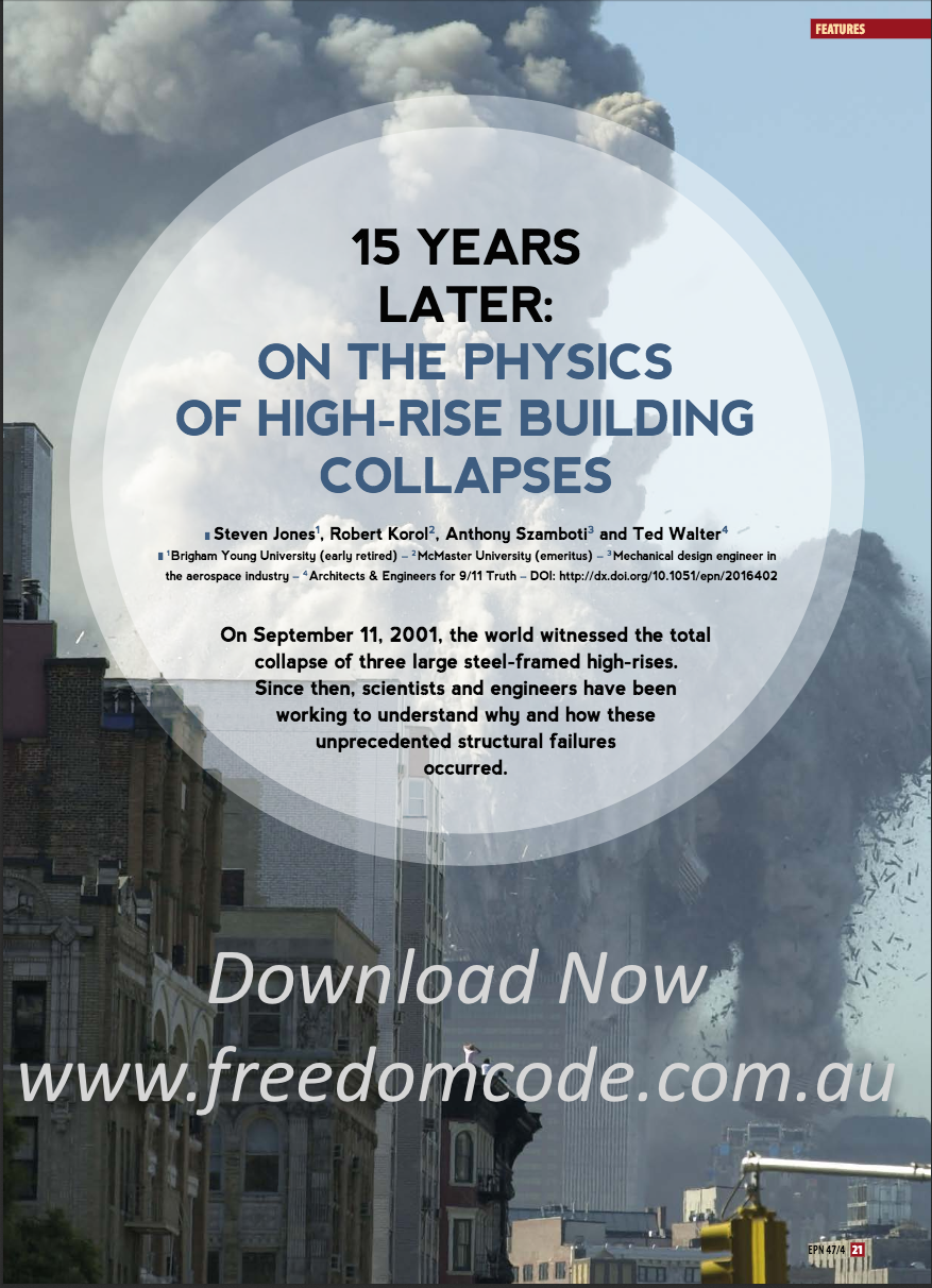 Freedom Code | The Physics Behind the Collapse of the Twin